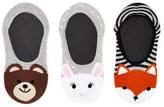 Forever 21 FOREVER 21+ Bunny No Show Socks- 3 Pack