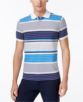 Tommy Hilfiger Men's Benjamin Tailored-Fit Striped Polo