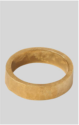 Whistles Made Hammered Band Ring