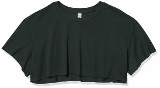 Alo Yoga Women's Cropped Short Sleeve Top Cami Shirt