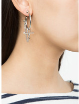 Eddie Borgo bar chain earrings