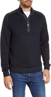 Hartford Regular Fit High Neck Wool Sweater
