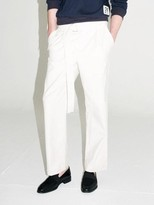 Belted Wide Pants Ivory
