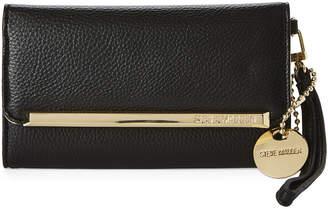 Steve Madden Logo Bar Tri-Fold Wristlet Wallet