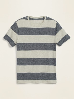 Old Navy Soft-Washed Slub-Knit Striped Tee for Men
