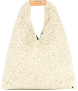 MM6 MAISON MARGIELA Japanese Small faux fur tote