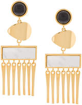 Lizzie Fortunato cutout earrings