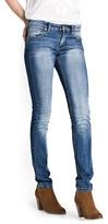 MANGO Super Slim-Fit Medium Wash Jeans