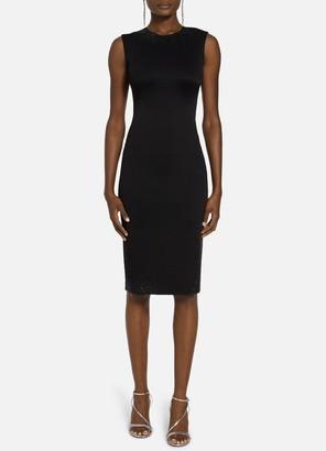 St. John Liquid Milano Knit Sequin Dress
