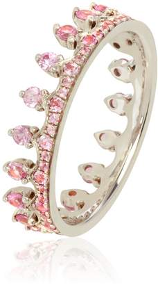 Annoushka Pink Sapphire Crown Ring