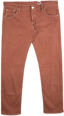 M Missoni Burnt Orange Denim Straight Fit Jeans L