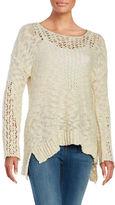 Vintage Havana Open Knit Sweater