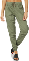 Swell Dally Elastic Cargo Pant Green