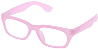 Peepers Women's Style Twenty-two - Pink 2479300 Square Reading Glasses