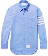 Thom Browne - Slim-fit Striped Cotton Oxford Shirt