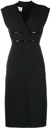 Gucci Logo Belted Dress
