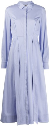 Twin-Set Twin Set pleated shirt dress