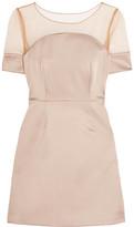 Bailey 44 Tulle And Satin Mini Dress