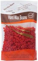 Bluezoo Strawberry Depilatory Pearl Hard Wax / Brazilian Granules Hot Film Wax Bead For Hair Removal(stripless) ,10ounce/300g