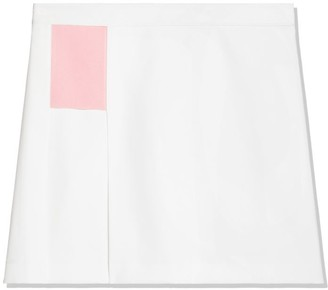 Tory Burch Tech Twill Tennis Skirt