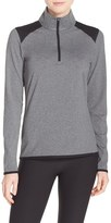 Nike Women's 'Lucky Azalea' Dri-Fit Half Zip Top