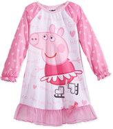 Komar Kids Peppa Pig Nightgown, Toddler Girls (2T-4T)