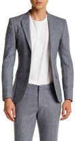 Topman Blue Daytona Two Button Notch Lapel Extra Trim Suit Separates Jacket