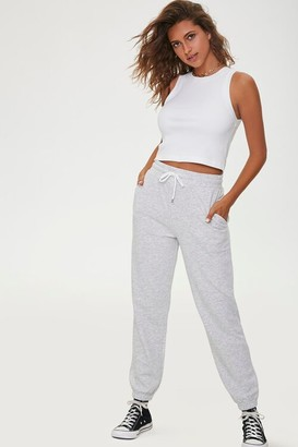 Forever 21 French Terry Drawstring Pants