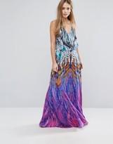 Forever Unique Multi Print Maxi Dress