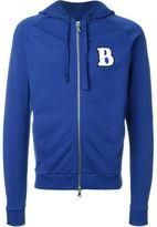 Pierre Balmain logo appliqué hoodie