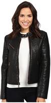 "Andrew Marc Vivian 20"" Vintage Vegan Leather Jacket"