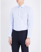 Turnbull & Asser Gingham Slim-fit Cotton Shirt