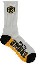 For Bare Feet Boston Bruins Crew Socks