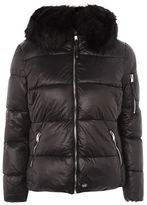 Sixth june Faux fur puffer jacket