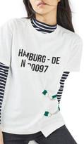 Topshop Hamburg Buckle Tee