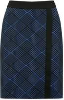 M&Co Geo waffle A line skirt