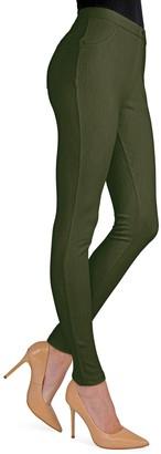 Me Moi Knit Cotton-Blend Chino Leggings