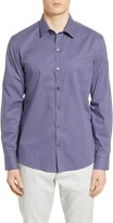 Zachary Prell Ebel Classic Fit Check Button-Up Shirt