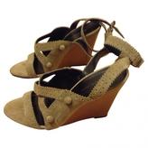 Balenciaga Beige Sandals