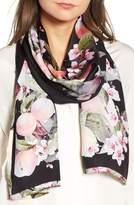 Ted Baker Women's Peach Blossom Silk Scarf