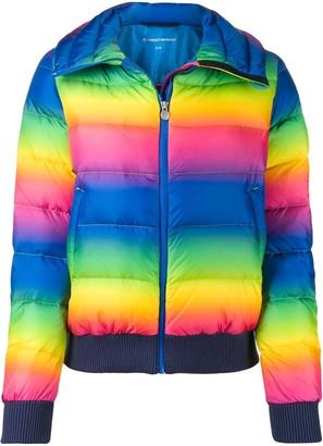 Perfect Moment Super Star rainbow-print jacket