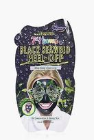 boohoo NEW Womens Black Seaweed Peel Off Face Mask in Black size One Size