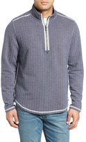 Tommy Bahama Men's Big & Tall Winchester Bay Quarter Zip Pullover