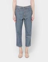 6397 Shorty Jean in Herringbone