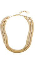 Thumbnail for your product : Ben-Amun Women's Cobra Gold-Plated Necklace - Gold - Moda Operandi