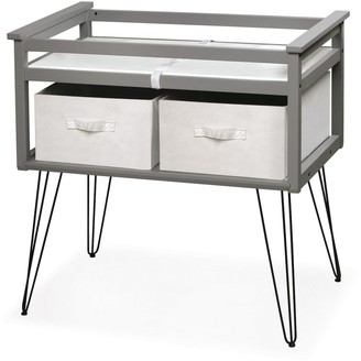 Badger Basket Contempo Convertible Changing Table with Two Baskets
