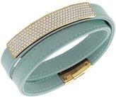Swarovski 5120641 Vio Cielo Leather Bracelet
