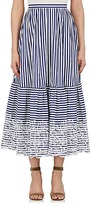 Erdem WOMEN'S LEIGH COTTON A-LINE MIDI-SKIRT