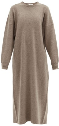 Extreme Cashmere No. 106 Weird Stretch-cashmere Dress - Mid Brown