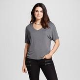 Mossimo Women's Short Sleeve Knit Dolman T-Shirt